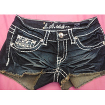 Shorts Corto Usado De Jean Marca: L.a.idol Usa Talla Xs