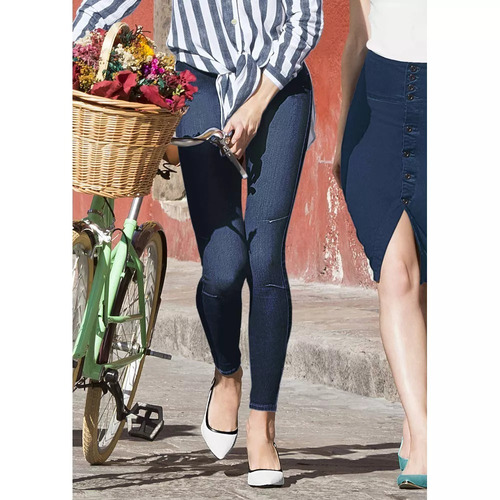 mujer jeans pantalón