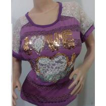 Blusones Camisas Y Camisetas Para Dama Al Mayor Y Detal