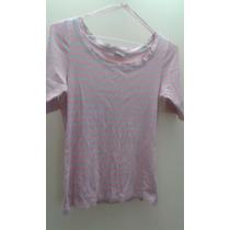 Camisa Franela Para Dama Usada Marca Sprit Usada Talla S
