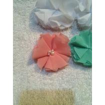 Flores De Chifon Por Docena