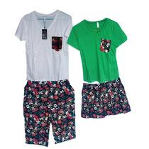 Blusas De Moda Para Parejas.precio Blusa & Short (2 Piezas)