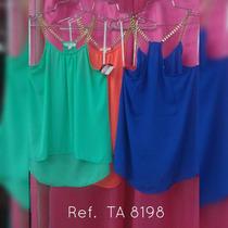 Blusas De Dama Nuevas Casuales Y De Vestir P1