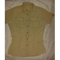 Camisa Tipo Columbia, Tela Fresca Ideal Para Uniformes