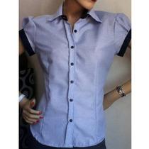 Camisa Uniforme Para Dama Tallas Xl - Xxl