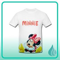 Camisa Personalizada Mickey Minnie Disney Niño Dama Parejas
