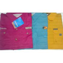 Camisas Columbia Y Bass Proshops Dama