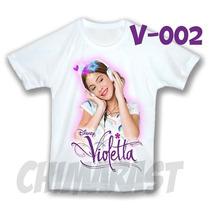 Violetta Franela Camisa Camisita Franelita