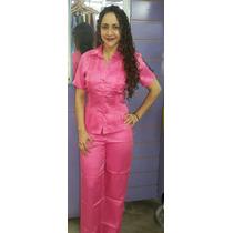 Guayabera Conjuntos M/c De Dama 100% Lino