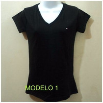 Bellas Franelas Tommy Damas Cuello En V Tallas Xl