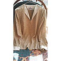 Conjunto Blusa Y Pantalòn Marca Tropicana Talla Plus -usado