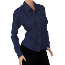 Blusa Dama Jean Casual Diseño Original A La Moda Ref: 1701