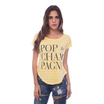 Franela Especial Pop Amarilla Ancha Saints Clothes
