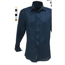 Guayavera Camisa 100%lino Para Caballero