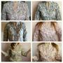 Camisa Blusa Estampada Floreada Para Dama