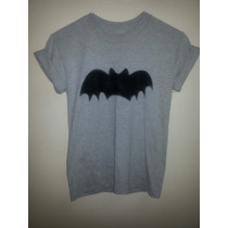 Franela Tipo Batman Femenino Dama Moda Hipster