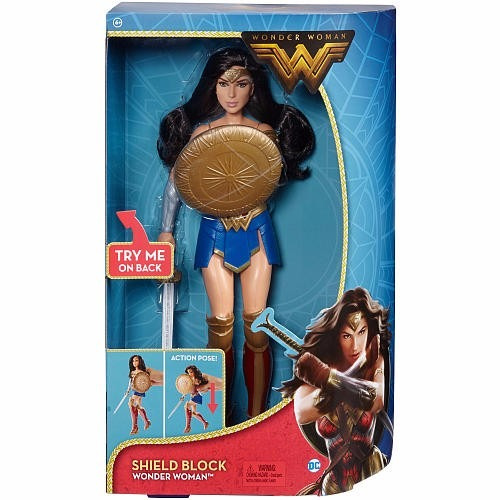 mujer maravilla dc comics wonder woman shield block 2017