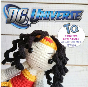 Mujer Muñeco Dc Universe Peluche Maravilla Amigurumi IE2Y9WDH