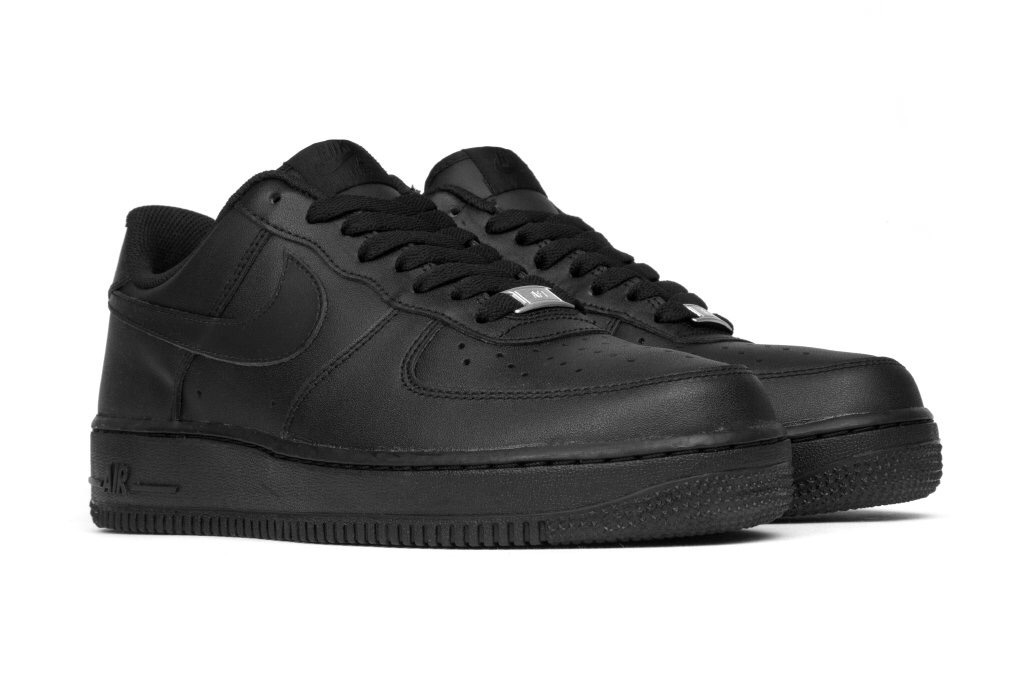 00ac1fe1900 Zapatilla Mujer Nike Air Force Low One Negra Clasica -   74.990 en ...