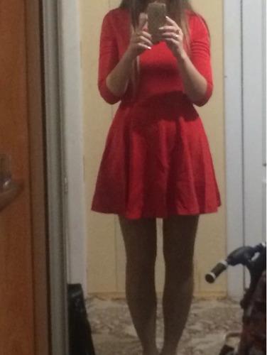 mujer noche vestido