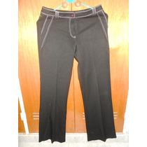 Pantalón Negro De Vestir Studio F. Dama. Talla 8