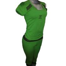 Conjuntos Deportivos Adidas Dama Cotton Lycra T.unica