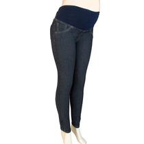 Pantalon Materno Jean Diseños Originales A La Moda Ref: 2607