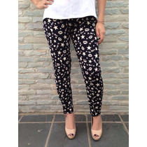 Bellos Pantalones De Vestir Tela Rayon Estampados Para Dama