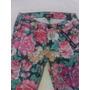Pantalon Forever 21 De Flores