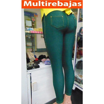 Leggins Leggings Italiana Levantacola De Moda Talla S M L Xl