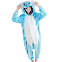 Pijama Kigurumi Polar De Elefante Onesie Para Adultos