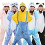 Pijama Kigurumi Minions, Stitch, Doraemon Y Cheshire Cat
