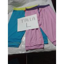 Pijama Tipo Capri Ovejita 100 % Algodon