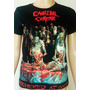 Polera Para Mujer Bandas De Rock Gothic Trash Death Metal