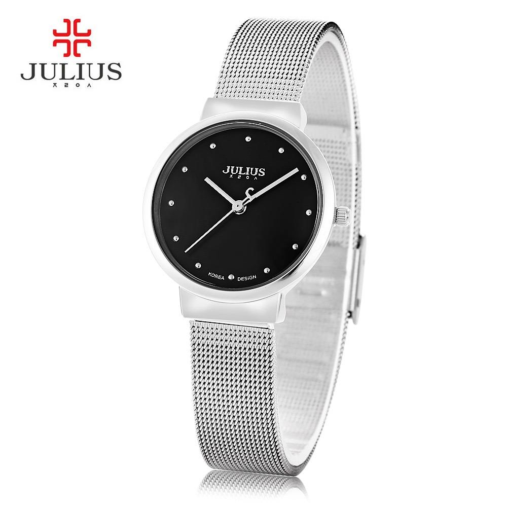 3fd565e6d609 mujer reloj de cuarzo ultrafino banda de acero inoxidable. Cargando zoom.