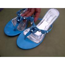 Sandalias Azules Talla 36 Y Medio