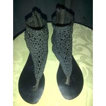 Sandalias Importadas Tejidas Para Damas