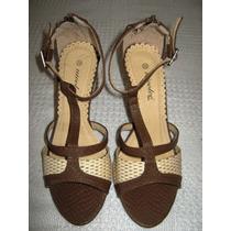 Sandalias Para Damas Nicoleé Nº 38 Nuevas