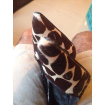 Zapatos De Damas Animal Print Nine West