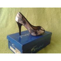 Zapatos Dama - Femini Talla 37 - Envío Gratis