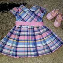 Sandalias Michael Kors Para Bebés Y Vestido Ralph Lauren