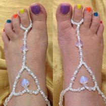 Sandalias Descalzas Tobilleras Corazón Pies Bonitos Dama
