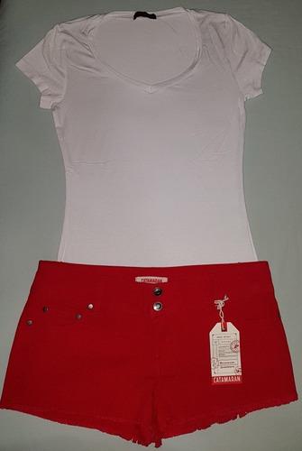 mujer short ropa