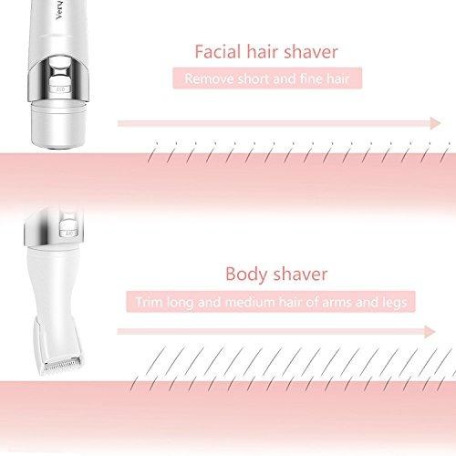 mujer sin dolor removedor de pelo vaquero 5 en 1 afeitadoras