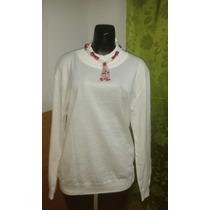 Sueter, Sweater Tejido Blanco Unisex