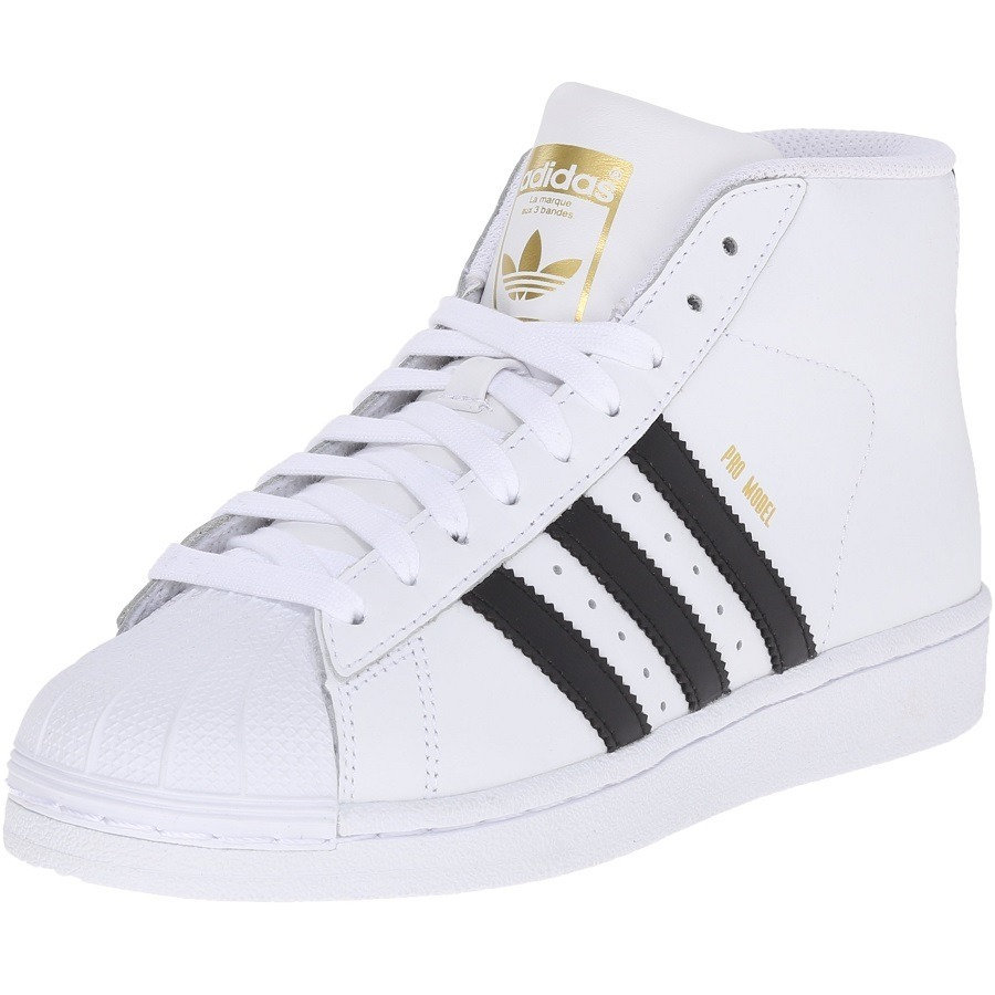 5d13cef7db276 mujer tenis adidas pro model originals superstar bota white. Cargando zoom.