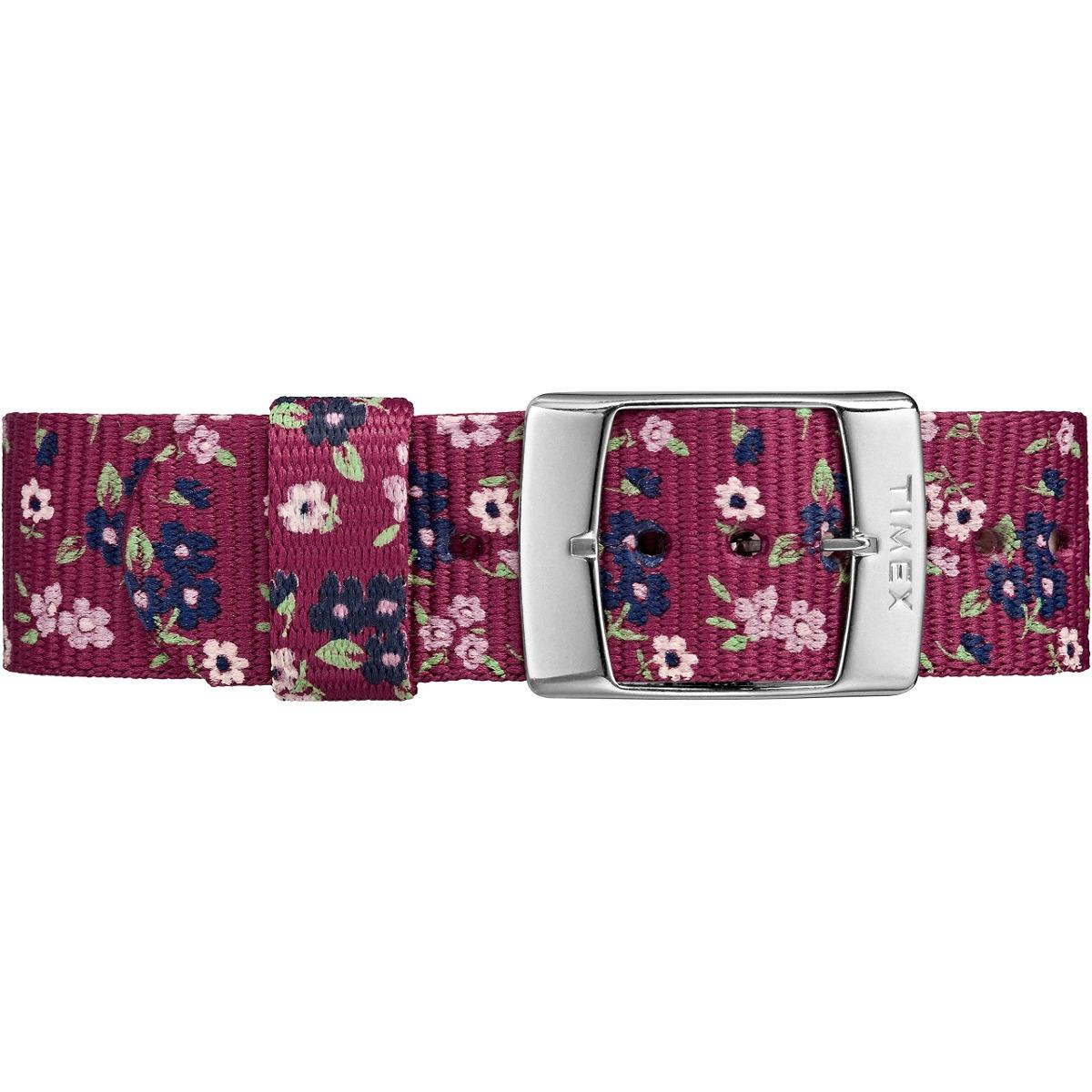 cc29c83b3bf2 Cargando zoom... reloj de mujer timex tw2r29700 weekender violet floral re