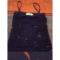 Blusa De Vestir Lentejuela Fiesta Boda Formul@ Talla S/m/38