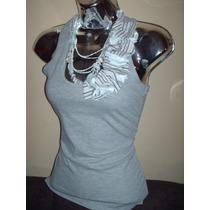 Franelillas Camiseta Olimpicas, Decoradas Con Petalos