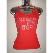 Franelillas Camisetas De Tiritas Estampadas En Pedreria